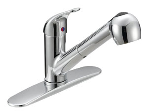 Single Handle Kitchen Pull-Out Faucet P4B-150C