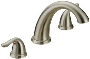 Two Handle Roman Tub Faucet P4B-900BN