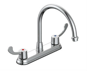 Hi-rise Two Handle Kitchen Faucet P4C-250CB