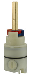 Single Control Replacement Cartridge for Pressure Balancing Valve With Stops P4SR-798WS