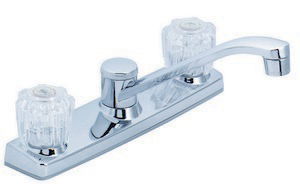 Two Handle Kitchen Faucet P4V-202C