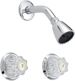 Two Handle Shower Only Trim P4V-822C