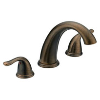 Trim Kit Two Handle Roman Tub Faucet P4B-900ORBJP