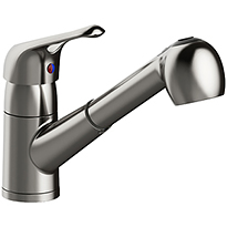 Single Handle Pull Out Kitchen Faucet P4L-150SS
