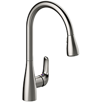 Single Handle Pulldown Kitchen Faucet P4L-151SS